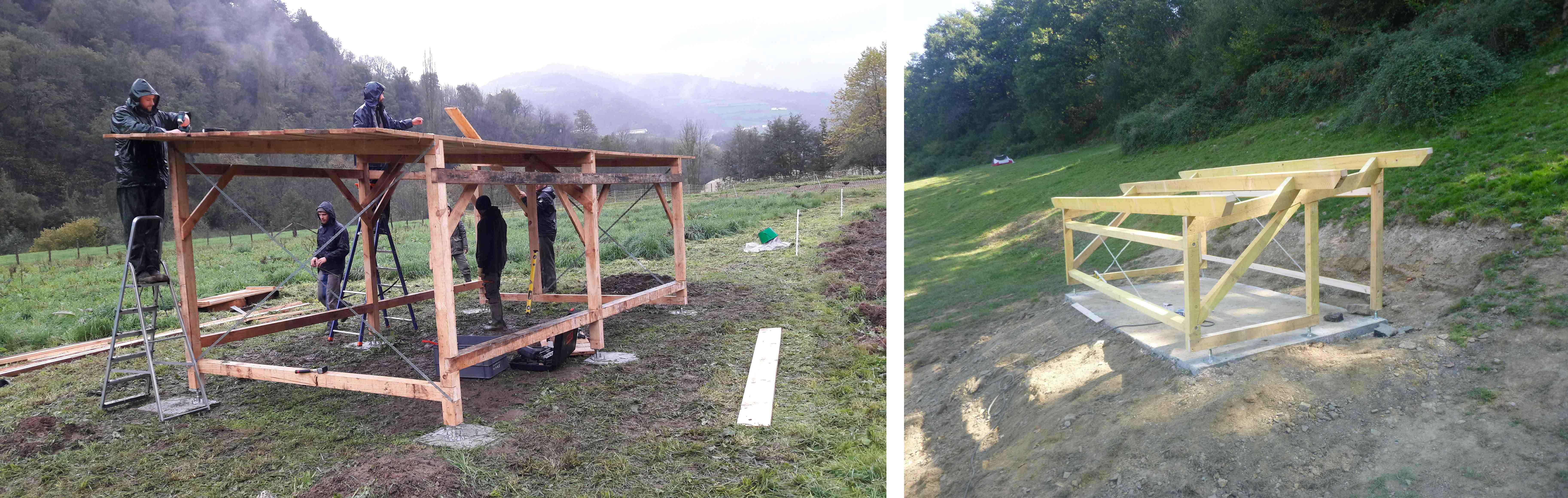 Comment Faire Un Abri Pour Le Bois abris en bois - l'atelier paysan